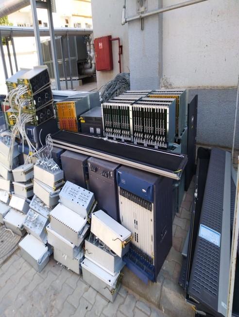 تحسين وتوسعة الشبكات الخارجيه( OSP) (جزئية tie cable )